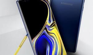 Samsung Galaxy Note 9 Gelb Blau