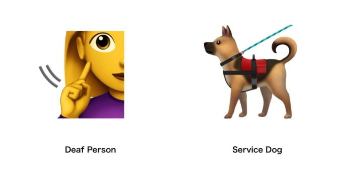 Emoji 2019 Blindenhund