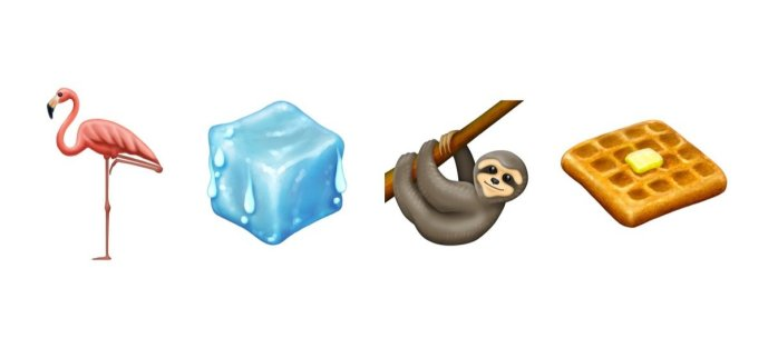 Emoji 2019 Waffel