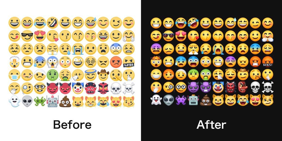 Facebook Emoji 2018 Unterschied