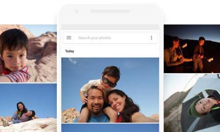 Google Fotos Header