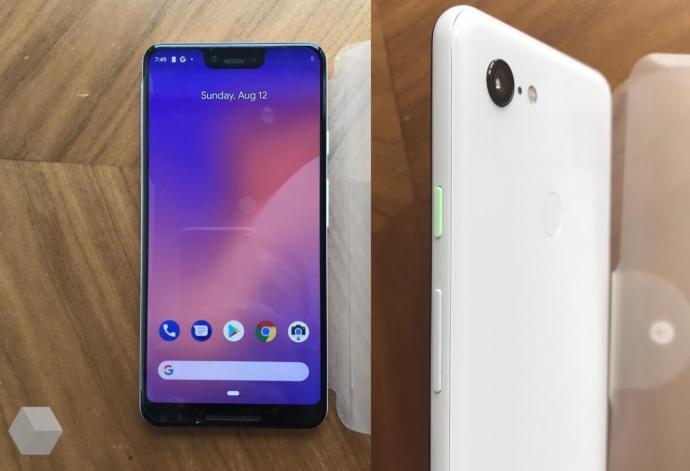 Google Pixel 3 Xl Front Side