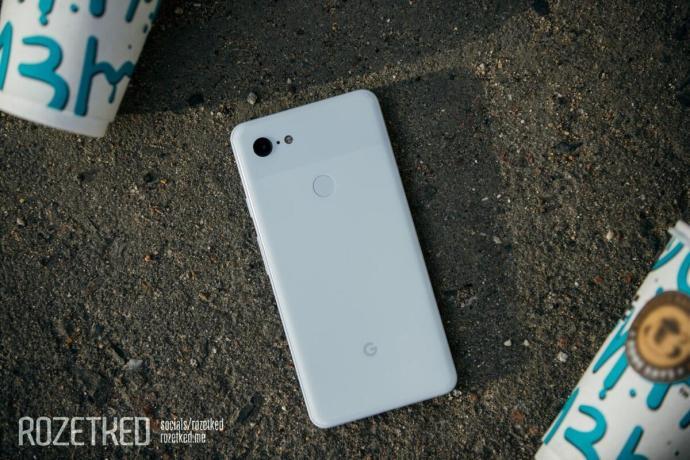 Google Pixel 3 Xl Leaks Back