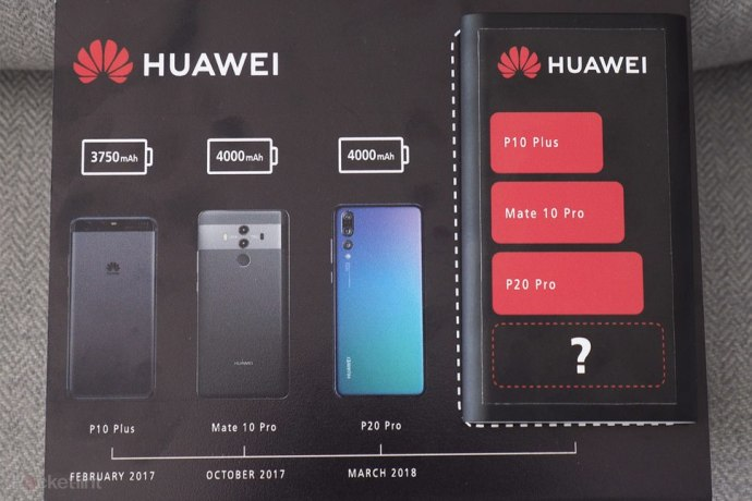 Huawei Mate 20 Pro Teaser Akku