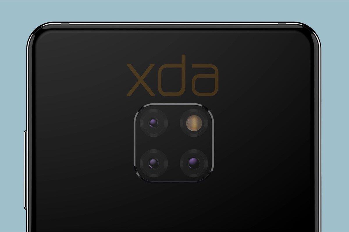 Huawei Mate 20 Render Kamera