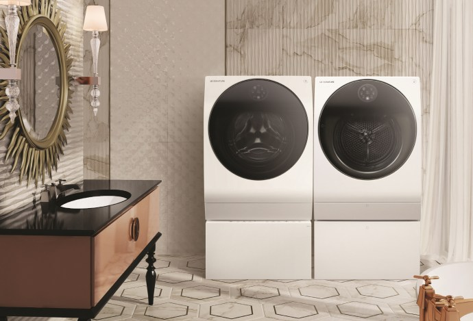 Lg Signature Washer & Dryer 2018