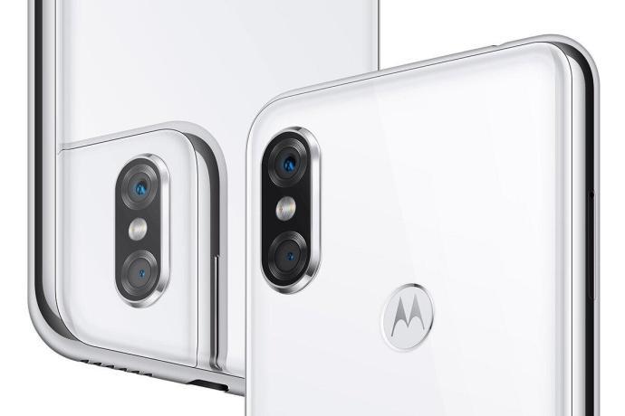 Motorola P30 Weiss