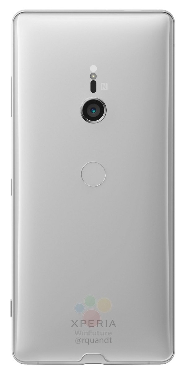 Sony Xperia Xz3 Leak Silber