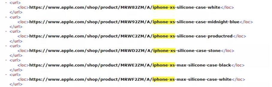 Apple Iphone Xs Max Xr Namen