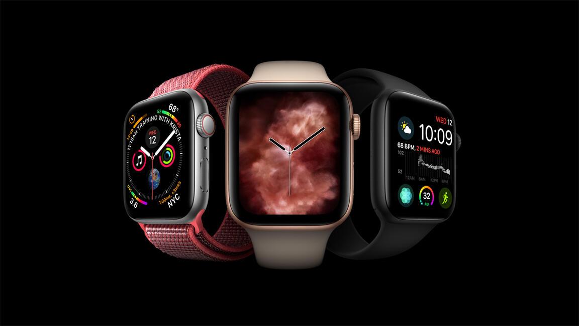 Apple Watch Series 4 Header