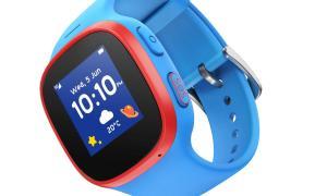 Die V Kids Watch By Vodafone Verbindet Eltern Sicher Mit Ihren Kindern Blau