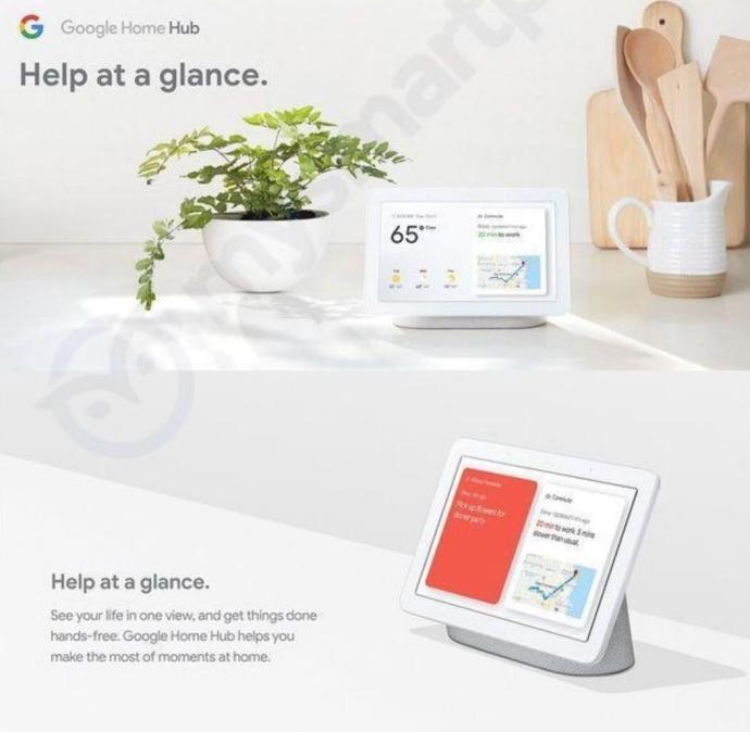 Google Home Hub Webseite