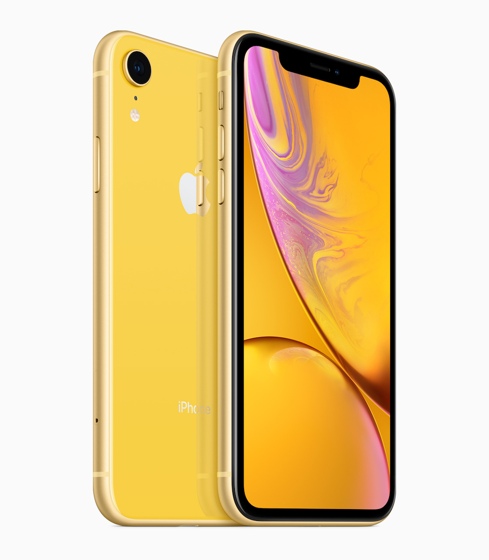 Iphone Xr Yellow Back 09122018