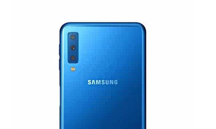 Samsung Galaxy A7 2018 Header