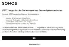 Sonos Ifttt Moeglichkeiten