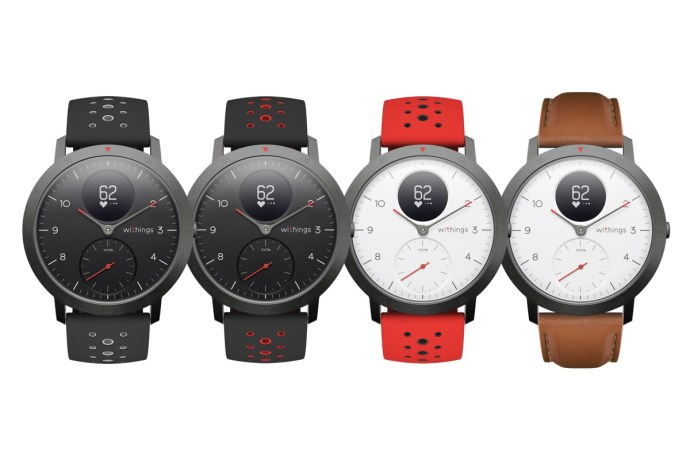 Withings Steel Hr Sport Farben