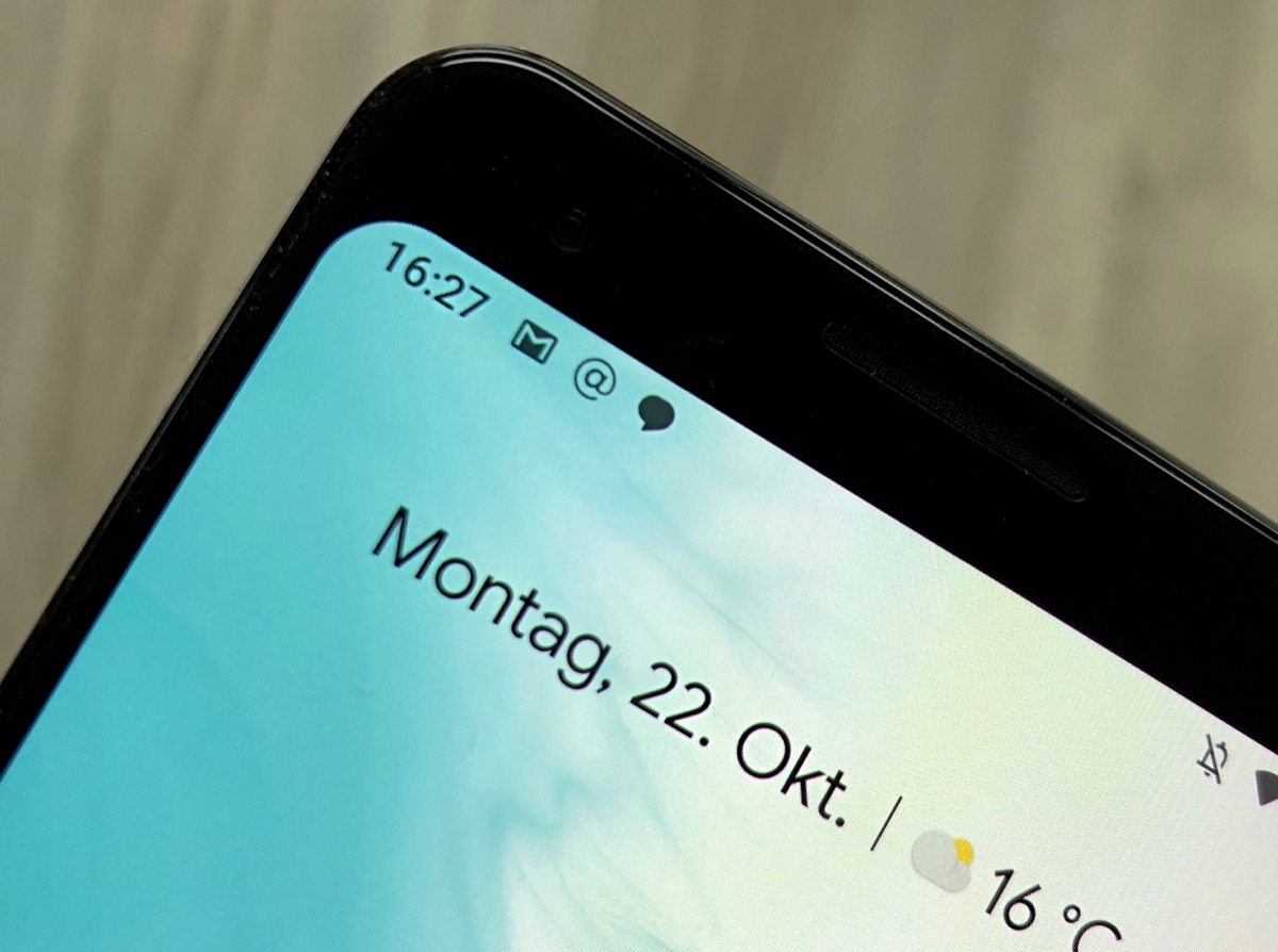 Android Notification Header