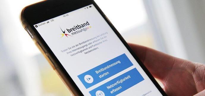 App Breitabndmessung