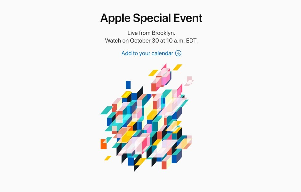 Apple Event Oktober