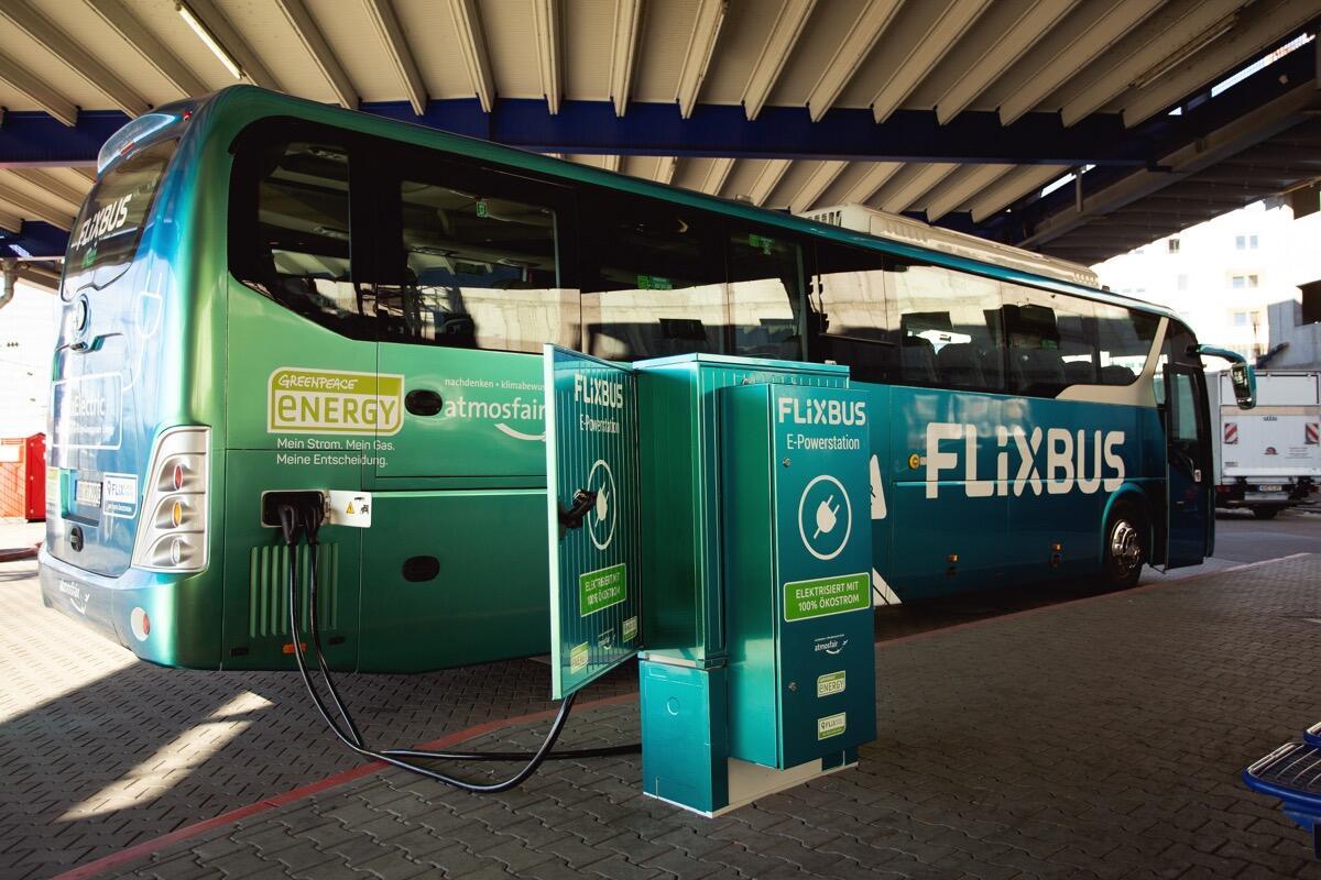 Erster Elektrischer Fernbus In D 1