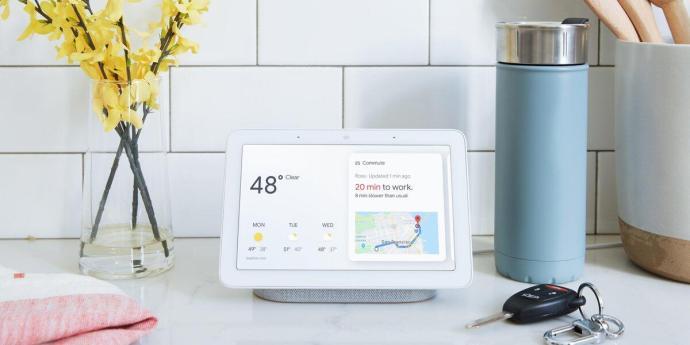 Google Home Hub Header