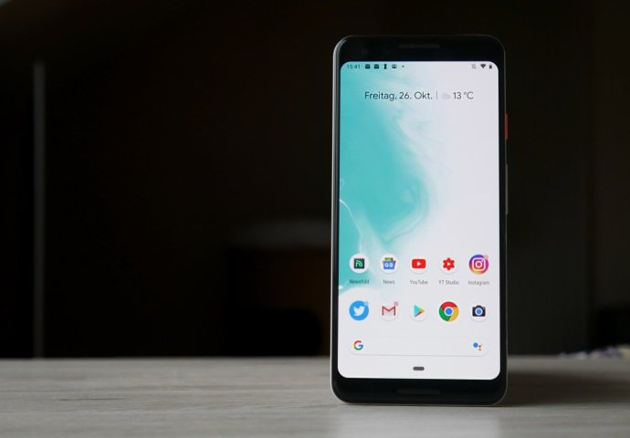Google Pixel 3 Front Header