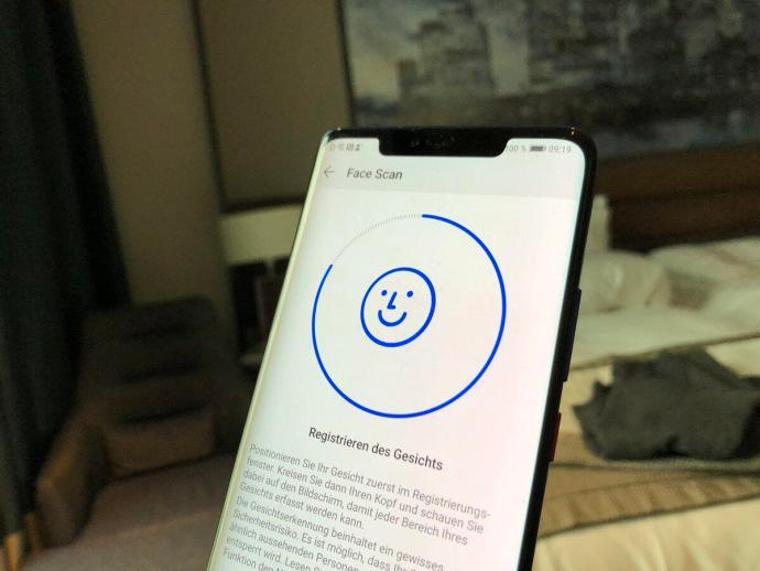 Huawei Face Scan