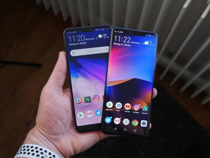 Huawei M20p P20p Vergleich2
