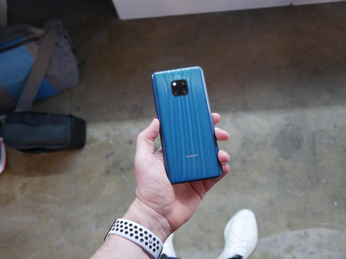 Huawei Mate 20 Pro Handson7