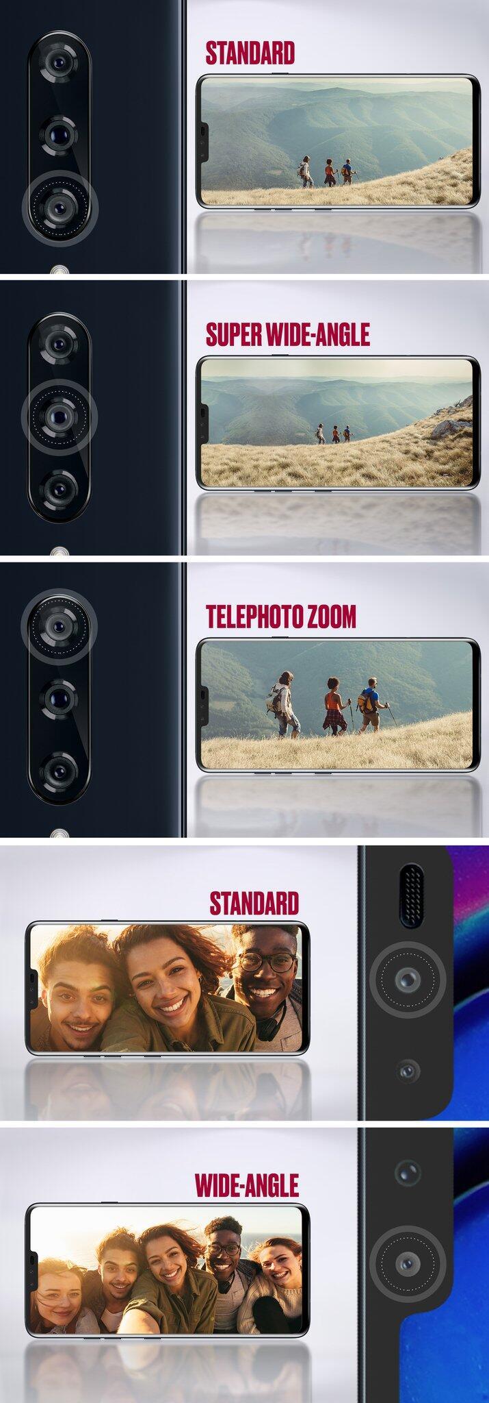 Lg V40 Kameras