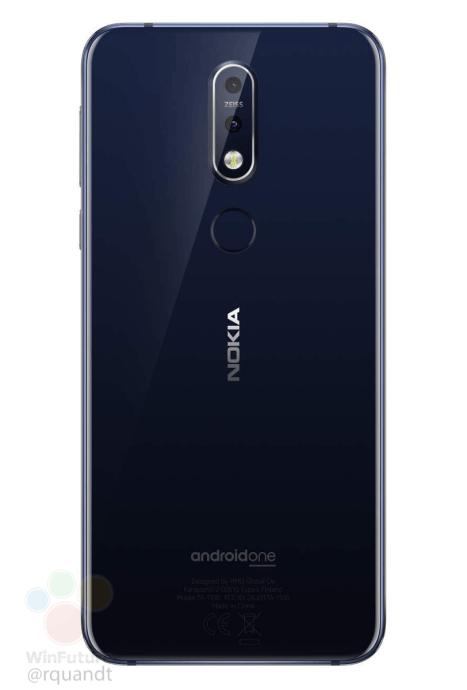 Nokia 7.1 Back