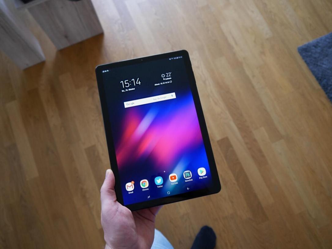 Samsung Galaxy Tab S4 Front