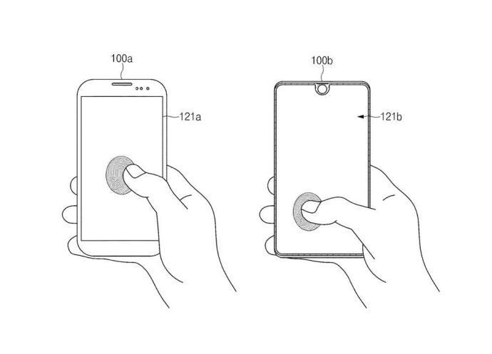 Samsung Patent Fingerabdruck
