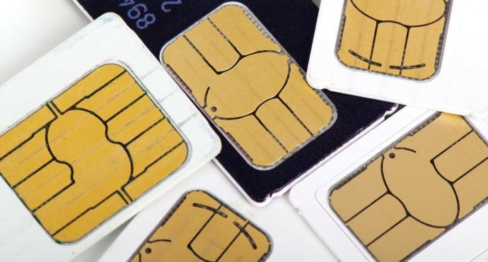 Sim Card Header