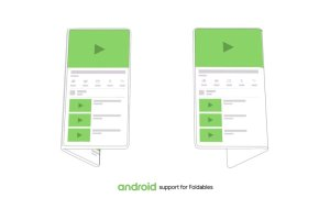 Android Google Displays Flatbar Ui