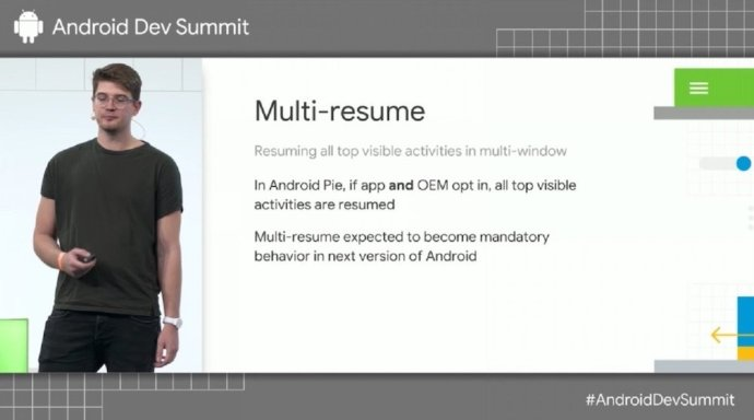 Android Multi Resume