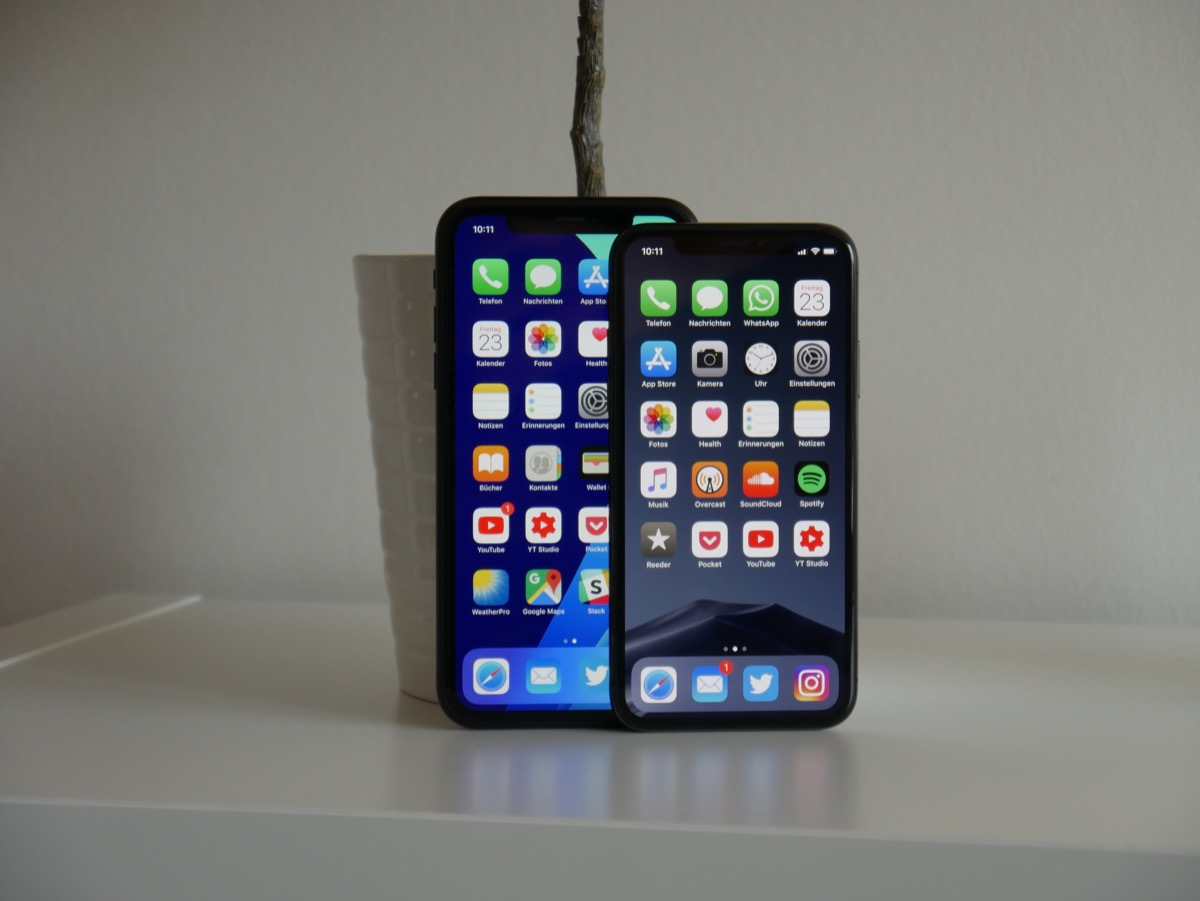 Apple Iphone X Oder Iphone Xr Vergleich3