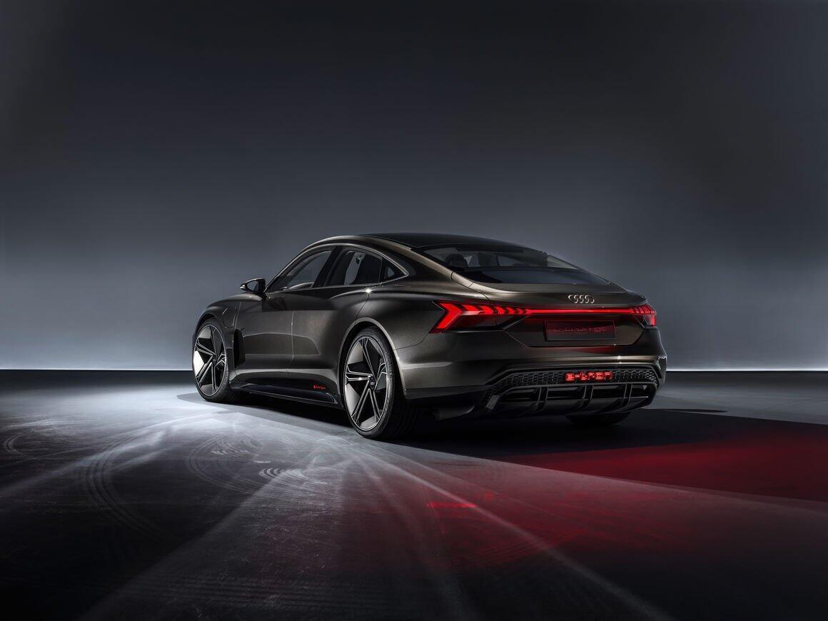 Audi E Tron Gt Back