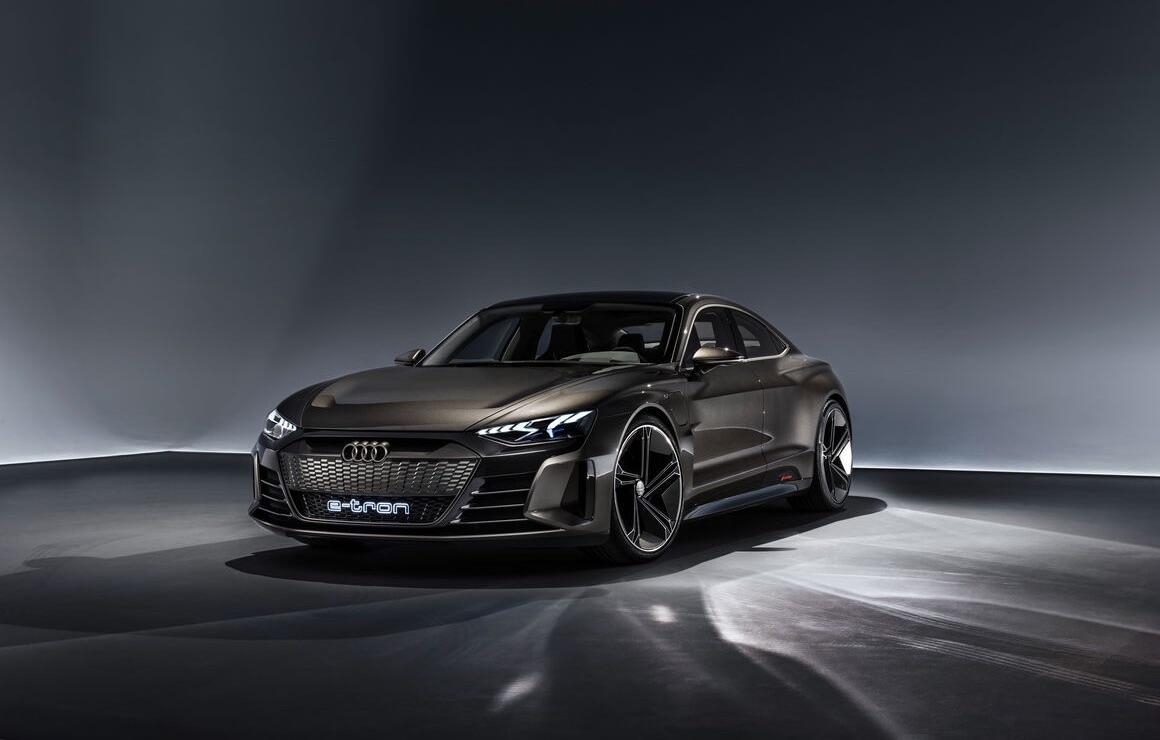 Audi E Tron Gt Front
