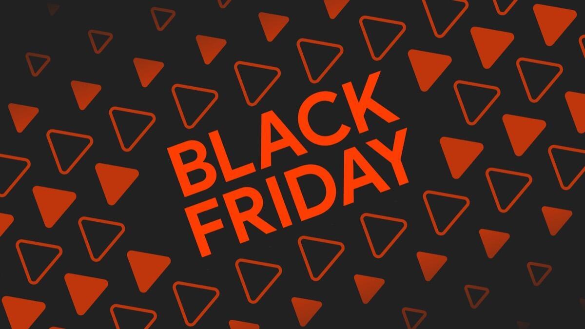 Google Play Store Black Friday Header