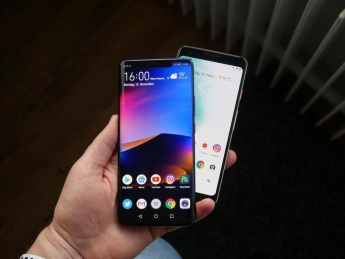 Huawei Mate 20 Pro Google Pixel 3 Vergleich4