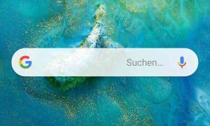 Huawei Mate 20 Homescreen Android Tasten