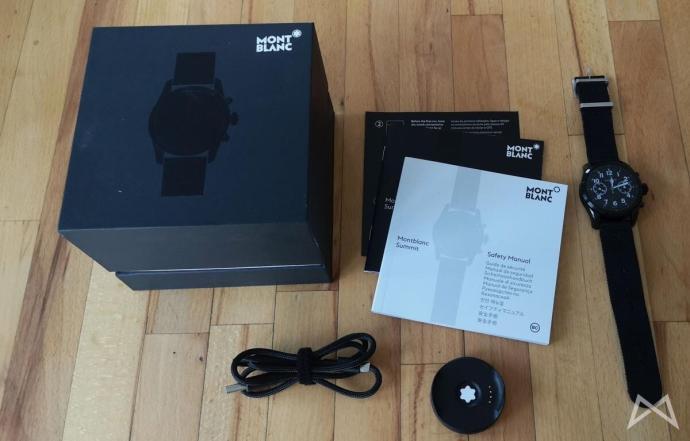 Montblanc Summit 2 Smartwatch Wearos 4