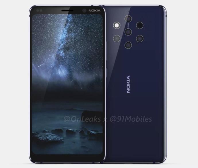 Nokia 9 Render Front