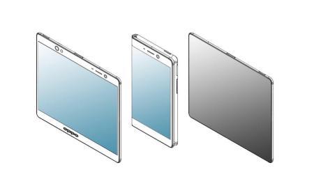 Oppo Smartphone Faltbar Patent