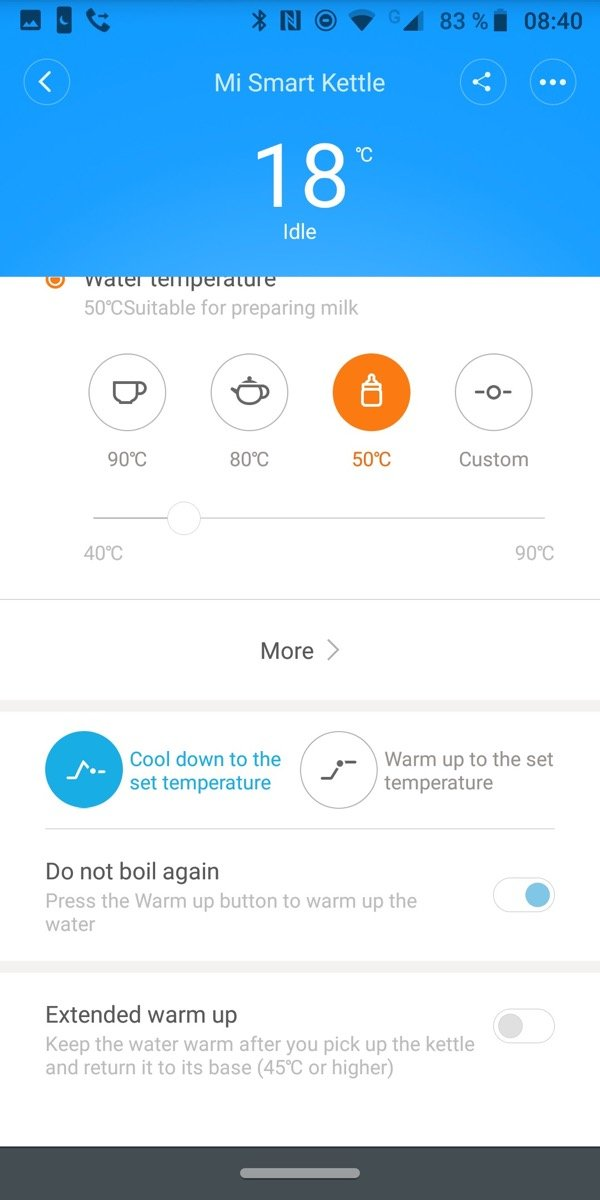 xiaomi Mi Smart Wasserkocher App 4