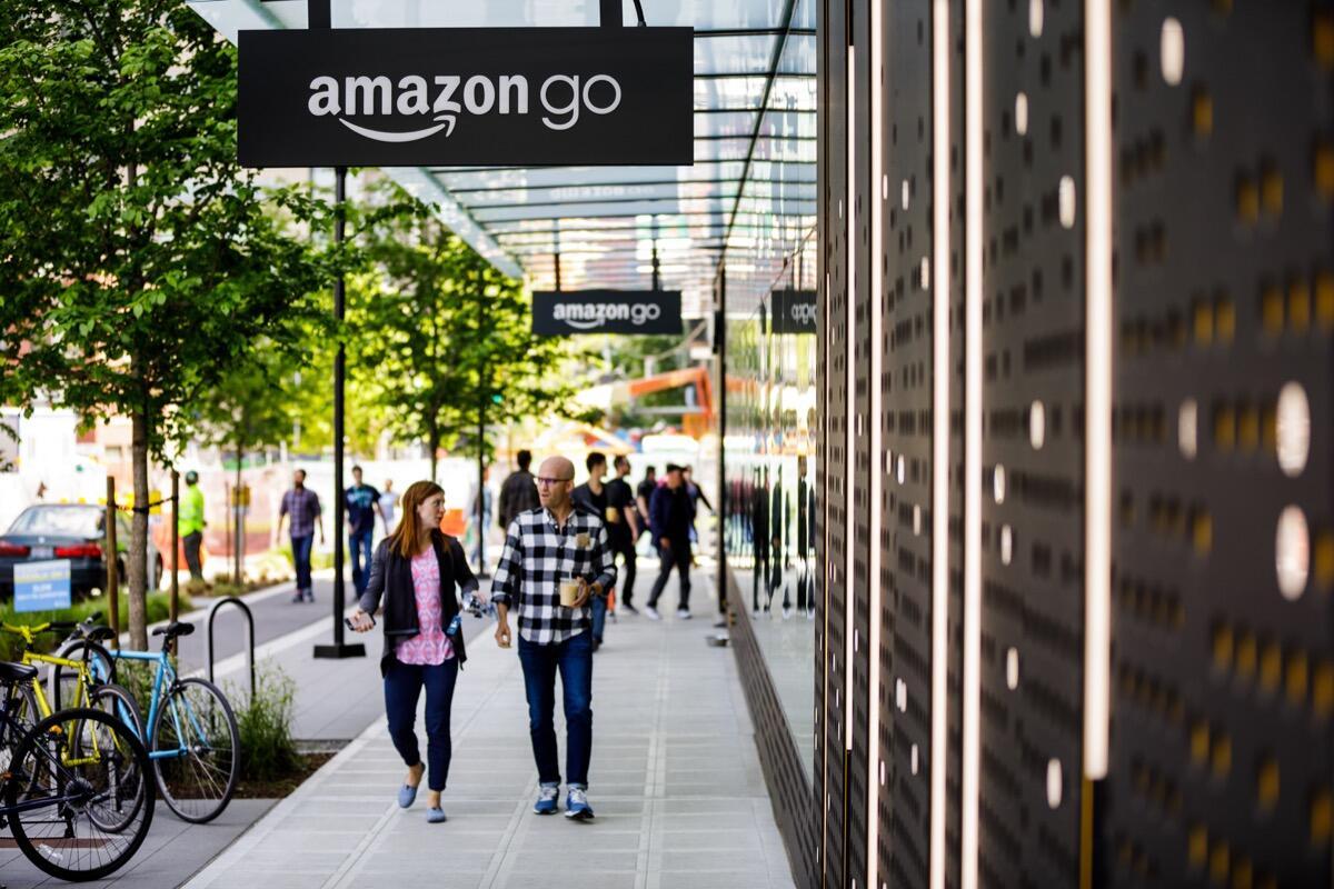 Amazon's Seattle Campus 2017