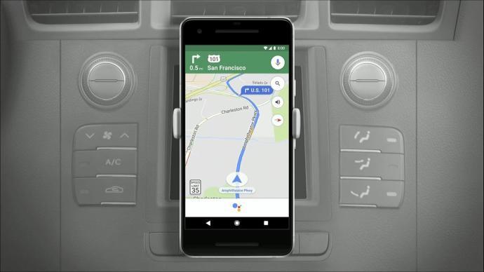 Google Maps Assistant Header