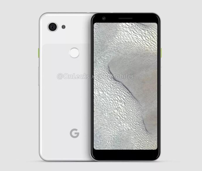 Google Pixel 3 Xl Lite Render