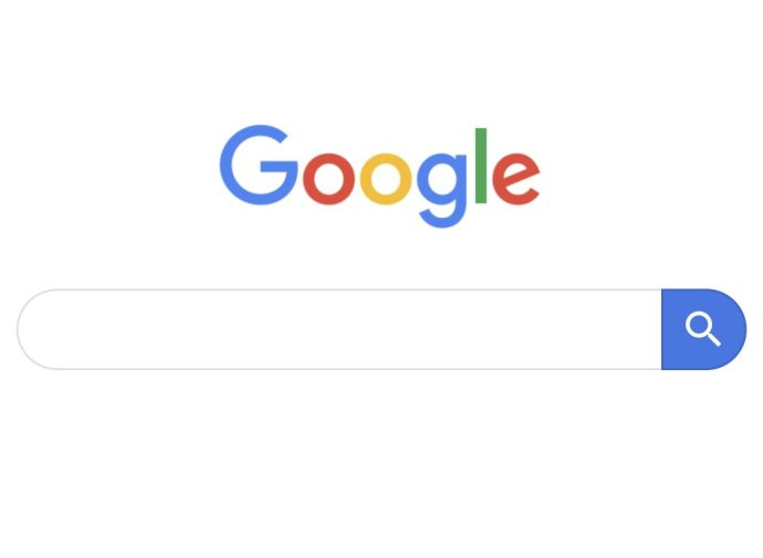 Google Suche Matterial Header